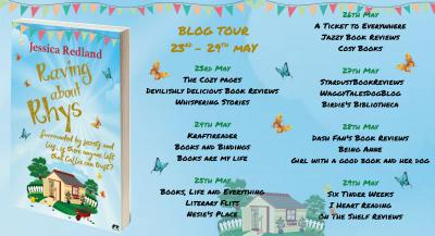 Raving About Rhys Blog Tour Starts