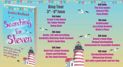 Searching for Steven Blog Tour Starts